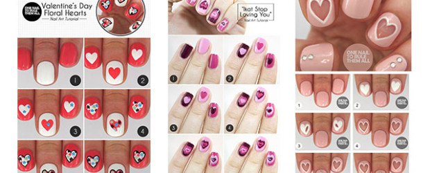 Give Your Nails A Valentine S Day Makeover With These 20 Tutorials 2017 Tutorial