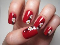 15+ Cherry Blossom Spring Nail Art Designs & Ideas 2016 ...
