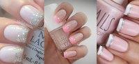 12 Gel French Tip Glitter Nail Art Designs & Ideas 2016 ...