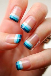 gel nails french tip design