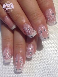 15 Gel French Pink Nail Art Designs & Ideas 2016 | Gel ...