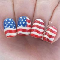 12+ 4th of July American Flag Nail Art Designs & Ideas ...