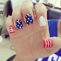 15+ 4th of July Acrylic Nail Art Designs 2016 | Fourth of ...