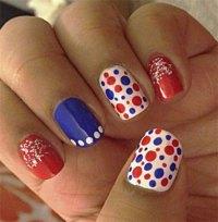15+ Cute & Simple 4th of July Nail Art Designs & Ideas ...