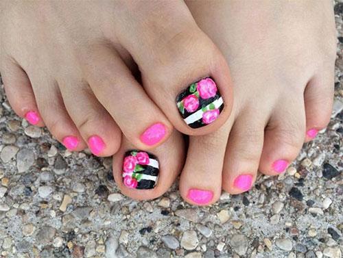 15 Summer Toe Nail Art Designs Ideas 2017