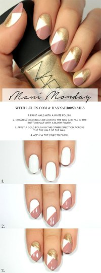 20 Easy Step By Step Summer Nail Art Tutorials For ...