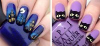15+ Halloween Gel Nail Art Designs & Ideas 2016