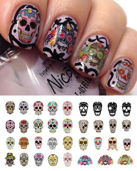 15 Y Cute Nail Decals Stickers 2017