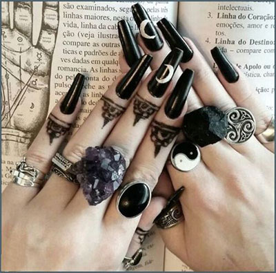 Double Witch Nail Art Wicked Of The West