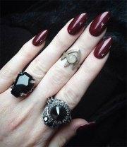witch halloween nails art design