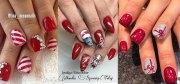 christmas gel nails art design