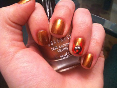 Thanksgiving Nail Stickers