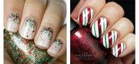 20+ Easy & Cute Christmas Nails Art Designs & Ideas 2016 ...
