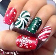 red green & white christmas