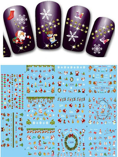 Simple Nail Art Stickers