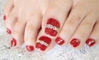 20 Best Merry Christmas Toe Nail Art Designs 2016 ...
