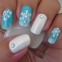 20 Christmas Snowflake Nail Art Designs & Ideas 2016 ...