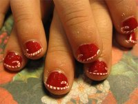 Easy & Cute Christmas Nail Art Designs & Ideas For Kids ...