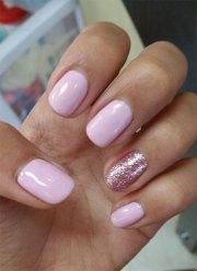 winter gel nails art design