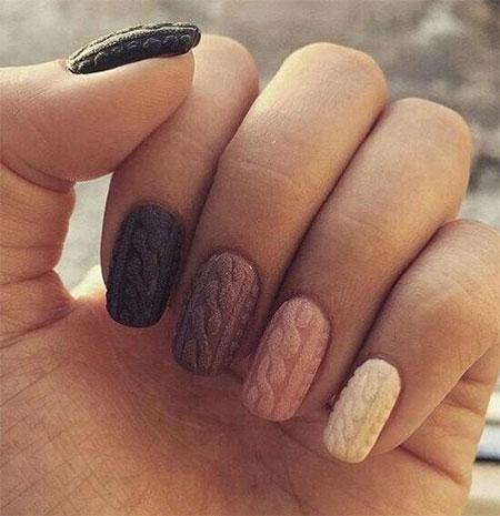 Fall Winter 2016 2017 Nail Trends Dark Manicure