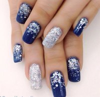 20+ Blue Winter Nails Art Designs & Ideas 2016 | Fabulous ...