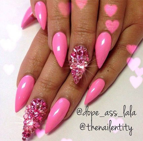 Crush Worthy Nail Art Inspirations For Valentines Day