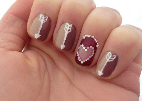15 Valentines Day Heart Nail Art Designs Ideas