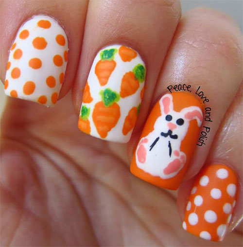 10 Easter Acrylic Nails Art Designs  Ideas 2017