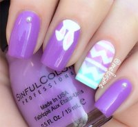 10+ Easter Acrylic Nails Art Designs & Ideas 2017
