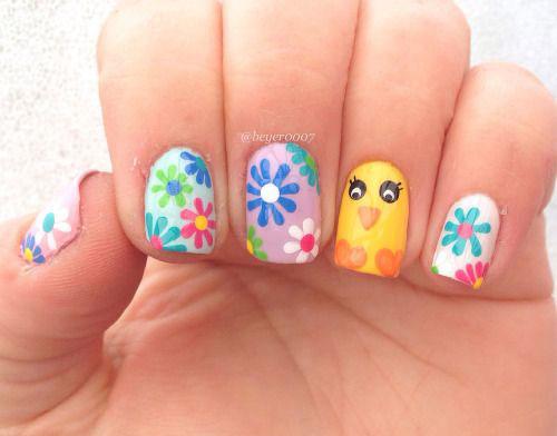35 Best Easter Nail Art Designs Ideas 2017