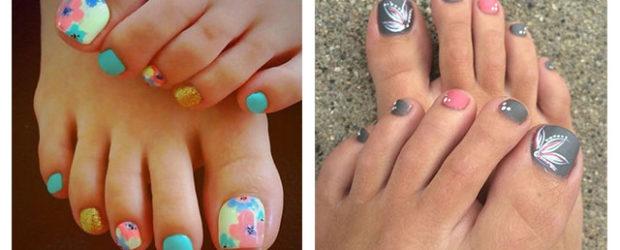 15 Spring Toe Nails Art Designs Ideas 2017