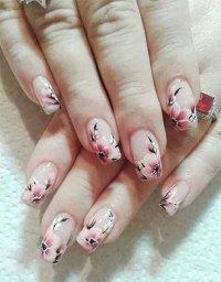 20 Cherry Blossom Spring Nails Art Designs & Ideas 2017 ...
