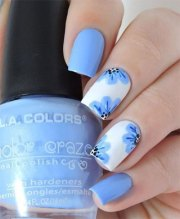 simple & easy spring nails art