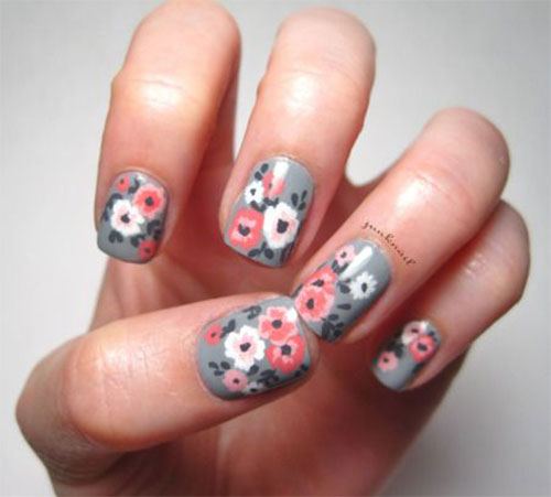 30 Spring Fl Nails Art Designs Ideas 2017 Fabulous Nail