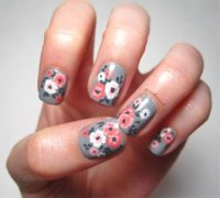 30+ Spring Floral Nails Art Designs & Ideas 2017 ...