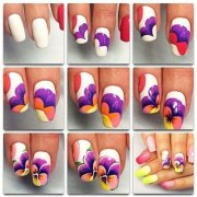 easy & simple spring nails art