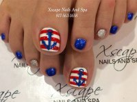 4th of July Toe Nails Art Designs & Ideas 2017 | Fabulous ...