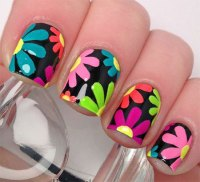 15 Neon Summer Nails Art Designs & Ideas 2017   Fabulous ...