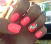 simple & easy summer nails