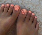 summer toe nails art design &