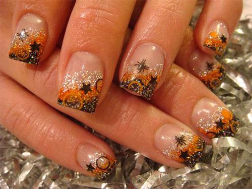 15 Autumn Acrylic Nail Art Designs Ideas 2017 Fall Nails