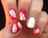 15 Autumn Leaf Nail Art Designs & Ideas 2017 / Fall Nails ...