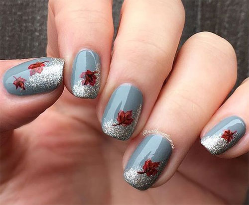 15 Easy Fall Autumn Nails Art Designs Ideas 2017 Fabulous