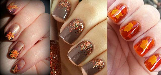 15 Easy Fall Autumn Nails Art Designs Ideas