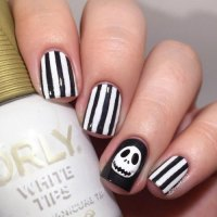 15+ Easy & Simple Halloween Nails Art Designs & Ideas 2017 ...