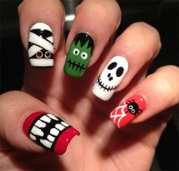 15+ Halloween Acrylic Nails Art Designs & Ideas 2017 ...