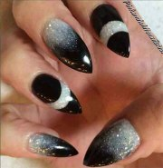 scary halloween nails art design