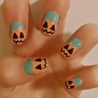 18 Easy Halloween Pumpkin Nails Art Designs & Ideas 2017 ...