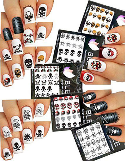 20 Nails Art Stickers Decals 2017 21