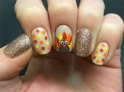 turkey nail art design & ideas